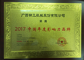 2017 Annual Influential Brand in China