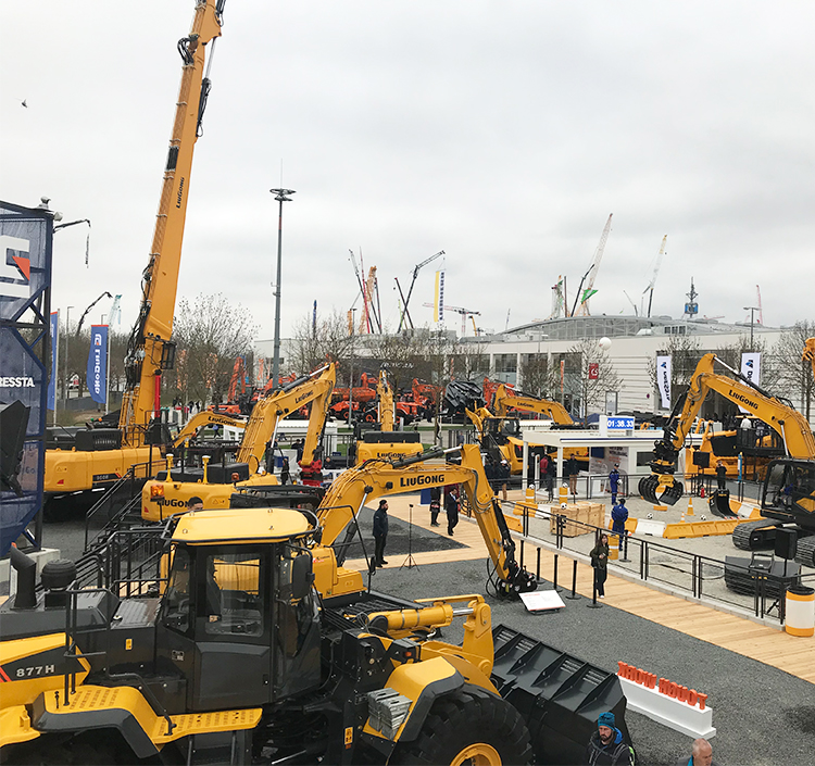 bauma 2019: LiuGong & Dressta  Nine NEW models join LiuGong's 20 machine line up, covering every major application