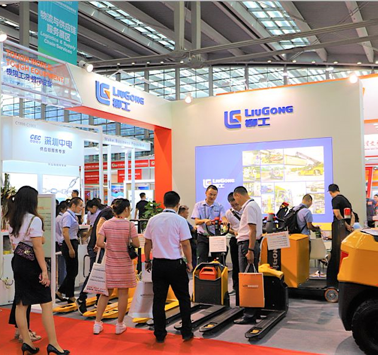 LiuGong Showcased New Material Handling Units at the China International Logistic and Supply Chain Fair